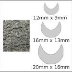 Necklace – moon Spirals