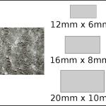 Necklace – rectangle 1 Dandelion fluff