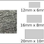 Necklace – rectangle 1 Spirals