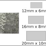 Necklace – rectangle 1 Woodgrain