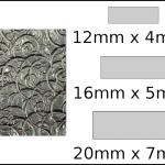 Necklace – rectangle 2 Spirals