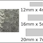 Necklace – rectangle 2 Woodgrain