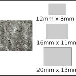 Necklace – rectangle 3 Dandelion fluff