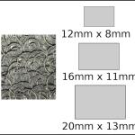 Necklace – rectangle 3 Spirals