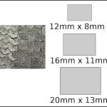 Necklace – rectangle 3 Woodgrain