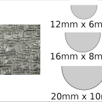Necklace – semi circle Circuits