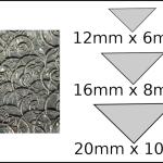 Necklace – triangle 1 Spirals