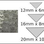 Necklace – triangle 1 Woodgrain