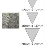 Necklace – triangle 2 Woodgrain