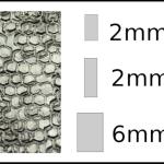 Studs – rectangle Honeycomb