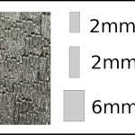 Studs – rectangle Woodgrain