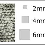Studs – square Honeycomb