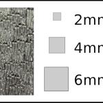 Studs – square Woodgrain