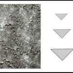 Studs – triangle 2 Dandelion fluff