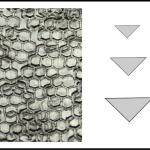Studs – triangle 2 Honeycomb