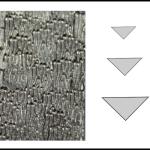 Studs – triangle 2 Woodgrain