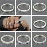 Stack rings collage